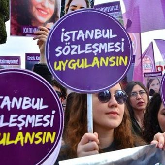 İstanbul Sözleşmesi'nin feshine karşı çıkalım!