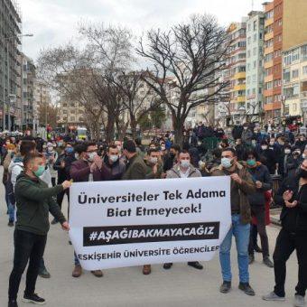Die Forderungen der Bogazici Studierenden müssen erfüllt werden und der Kurautorrektor Melih Bullu sollte zurücktreten!